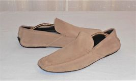 Made Suede in Men's Ermenegildo Moc 10 Driving Italy Zegna D Loafer Brown 6E04Y