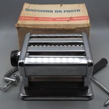Vintage Domus Pasta / Noodle Maker Machine Roller made in Italy - $49.49