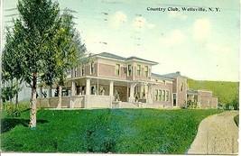 Wellsville New York Country Club circa 1924 Post Card - $6.00
