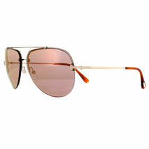 Tom Ford Sunglasses FT0584/S 28Z 63 Brad 28Z Shiny Rose Gold Brown - $405.90