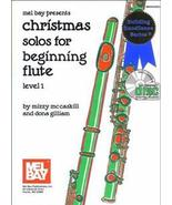Christmas Solos For Beginning Flute/Level 1/Book w/CD Set - $10.99