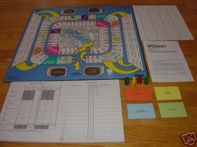 STOCK MARKET SPECIALIST BOARD GAME AMEX 1983 COMPLETE