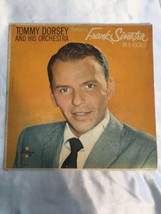 Frank Sinatra & Tommy Dorsey and HIs Orchestra In 5 Vocals Record 1963 - $13.00