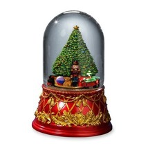 The San Francisco Music Box Company Nutcracker Tree 120mm Domed Water Globe - $75.65