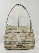 NWT Brahmin Farrah Leather Tote / Shoulder Bag in Sandalwood Melbourne image 11
