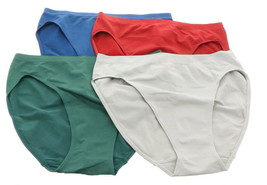 Rhonda Shear 4Pc Original Ahh Panty Jewel Tones L NEW 722-828 - $21.76