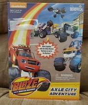 Blaze and the Monster Machines Axle City Adventure Nickelodeon BRAND New  - $19.80
