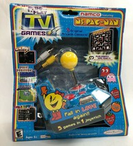 Jakks Pacific Namco Ms. Pac-Man Plug and Play TV Game Joystick New in Box Sealed - $79.48