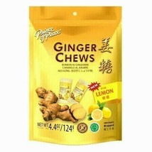 Prince of Peace Ginger Chews Candy with Lemon( 100% Natural ) 4 oz - $5.93