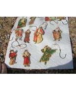 Lot of ELEVEN Vintage 1977 Santa Merrimack Christmas Ornaments - $44.99