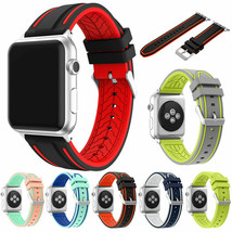 Sports Silicone Watch Band Strap Apple Watch iWatch Series 5 4 3 2 1 42/... - $4.62+