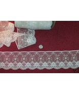 "4"" Victorian Look Cream Lace 75 cents a yard - $0.75"