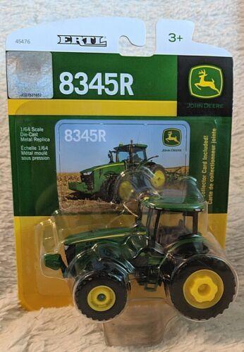 John Deere TBE45476 ERTL 8345R Die Cast Metal Replica Tractor