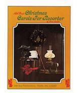 Christmas Carols For Recorder Songbook/Soprano - $4.00