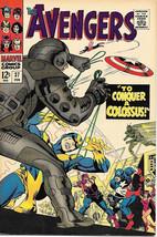 The Avengers Comic Book #37, Marvel Comics Group 1967 VERY FINE - $54.10