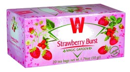 Wissotzky Tea Strawberry Burst Caffeine Free KP,  20 tea bags - $7.50