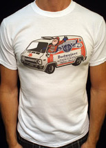 Bud Man t-shirt vintage style budweiser beer hero van jersey shirt 02w - $19.99