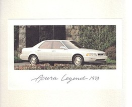 1993 Acura LEGEND sales brochure catalog 93 US Honda - $10.00