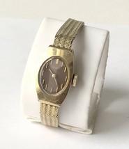 Vintage Ladies SEIKO 472994 Brown Face Gold Tone Wristwatch 11-7039 Pars... - £11.07 GBP