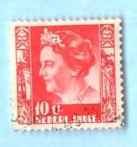 Used Netherlands Indies (Dutch Indies) 10c Queen Wilhemina (1937) - Scot... - $1.99