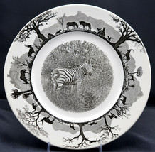 Wedgwood Kruger National Park * Waterbuck Dinner Plate * African Animal, Vgc - $49.49