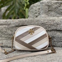 Tory Burch Kira Chevron Color-Block Small Camera Cross-Body Bag - $279.00