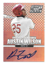 2013 Austin Wilson Panini Prizm Draft Picks Rookie Auto Prizm Version - ... - $1.89