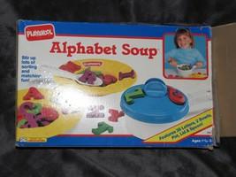 Playskool Alphabet Soup 1991 Vintage Preschool Kid Learning ABC Toy Game - $39.59