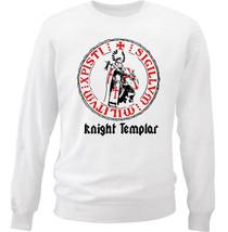 KNIGHT TEMPLAR 43 - NEW WHITE COTTON SWEATSHIRT - $30.65