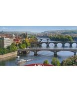 Castorland Vltava Bridges In Prague 4000 pc Jigsaw Puzzle US Seller - $59.39