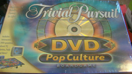 Trivial Pursuit Dvd Pop Culture Board Game Brand New - $22.28