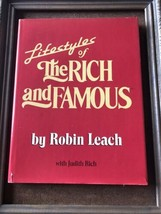 Lifestyles of the Rich and Famous By Robin Leach (1986, H C VG) Has Dona... - $14.80