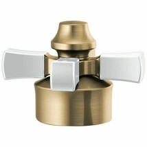Delta Faucets H562GS Dorval Single Cross Handle Kit Champagne Bronze/Porcelain - $80.00