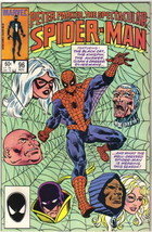 The Spectacular Spider-Man Comic Book #96 Marvel 1984 VERY FINE UNREAD - $3.99