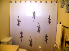Geckos shower curtain  75 thumb200