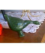 Jade Duck Goose Figurine  - $14.00