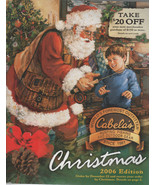 "CABELA""S Christmas 2006 Edition Catalog - $1.75"