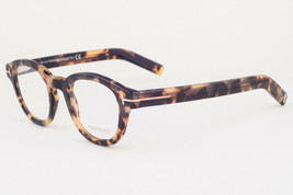 Tom Ford 5429 055 Yellow Havana Eyeglasses TF5429 055 45mm - $185.22