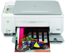 HP Photosmart C3180 All-In-One Inkjet Printer - $118.79