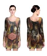 Foreigner Women Sexy Long Sleeve Bodycon  Dress - $24.80+