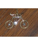 Bicycle Pendant Necklace  - $14.00