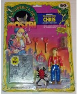 Creepy Crawlers Chris Carter C.C. Action Figure Toymax Italian - $15.00