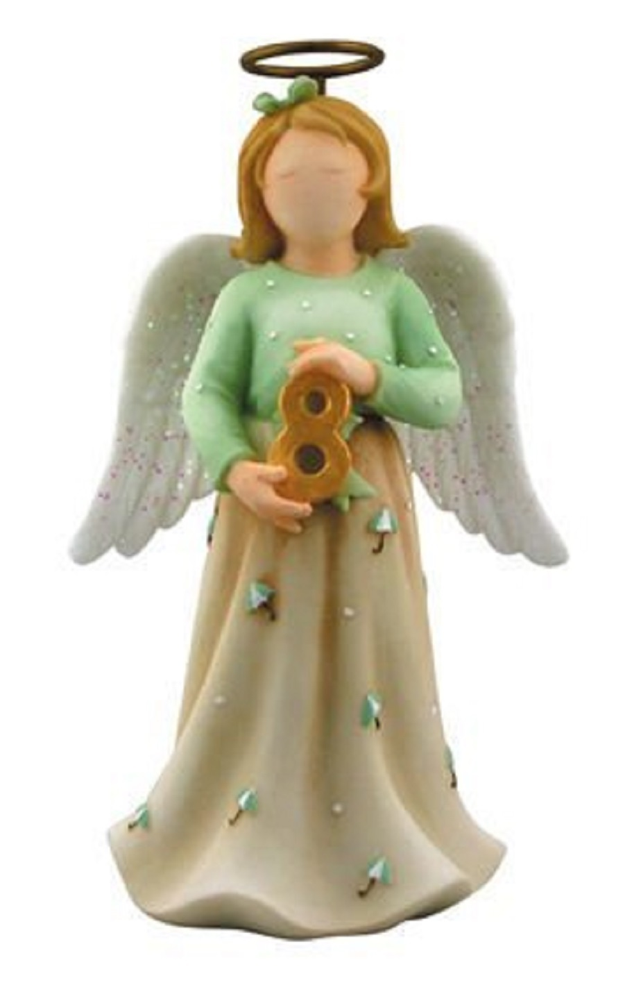 Faithful Guardians Growing Up Guardian Angel for Age 8 Figurine