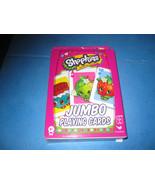 Shopkins Jumbo Playing Cards Cardinal 1 Set - $2.93