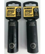 "Dewalt DW22912 13/16"" Deep Impact Ready Socket 1/2"" Drive 2pcs - $4.95"