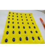 Natural Grade AAA Lapis Lazli large to small 250 Carat 30Pcs cabochons c... - $44.55