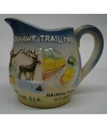 Mohawk Trail, Mass. Small Souvenir Pitcher  (A) - $17.99