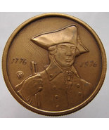 N.Y. BICENTENNIAL MEDAL 1776 1976 Liberty New York State Commemorative m... - $14.99