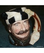 """""""The Trapper"""" Royal Doulton Character Toby Jug D6609 From 1966 - MAN CAV... - $105.73"""