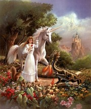 BEHOLD Amazing HAUNTED MALE unicorn astral beiNG LOVE peace understandin... - $25.99